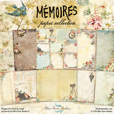 BLUE FERN STUDIOS- MEMOIRES PAPER COLLECTION PACK- 10 SHEETS