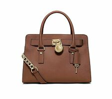 Michael Kors Hamilton Large Saffiano Leather East West EW Satchel (Luggage)