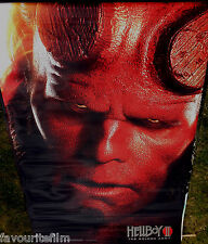 Cinema Banner: HELLBOY II THE GOLDEN ARMY 2008 (Hellboy) Ron Perlman Selma Blair