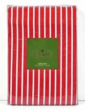 """*NEW* Kate Spade Harbour Drive Tablecloth - 60"""" x 120"""" - Red / White Stripe"""