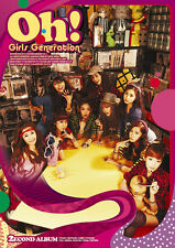 Girls' Generation SNSD - Oh! [ 2nd Album ] New Sealed