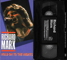 RICHARD MARX HOLD ON TO THE NIGHTS 1988 VHS VIDEO **NEW IN OPEN PACKAGE!**