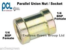 PCL 1/4 BSP PARALLEL Connector - Air compressor fitting for tool & hose   25823