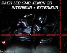 KIT 15 AMPOULE LED SMD XENON FEUX DE JOUR + INT + PLAQUE PEUGEOT 508 BERLINE SW