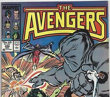 The AVENGERS #286 with Captain America & Thor from Dec. 1987 in VF con. NS