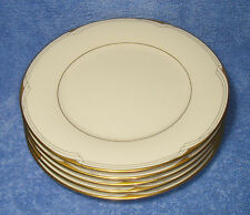 "Noritake, Golden Cove (7719, '86-'99) - Set Of Five 8¼"" Salad Plates (VG++)"