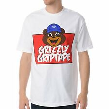 Diamond Supply Co Grizzly Griptape Mascot Tee in White Large L