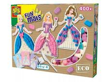 SES Creative Toys-DIVERTENTE mais-PRINCESS SET-CREA LA TUA PRINCESS - 24970