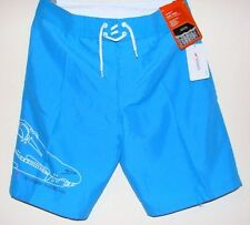 Boys swimming short speedo pablo magic imprimer sport wear train bleu 30""