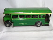 triang minic TINPLATE SINGLE DECKER BUS GREENLINE