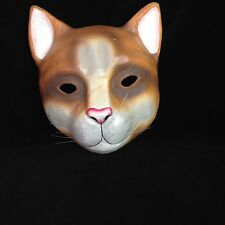 Papier Mache Cat Mask Philippines Hand-painted, Wall Decor,Halloween, Masquerade