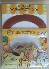 Sanrio Original PomPom Purin Sticker Sack Pack kawaii stickers flakes Japan