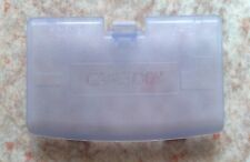 "NEU Klar Lila ""Glacier"" Batteriedeckel für Game Boy Advance GBA - Clear Purple"