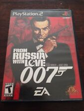 From Russia With Love (Sony PlayStation 2, 2005). Complete
