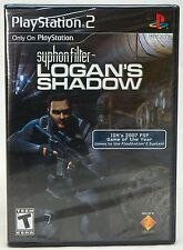 NEW SEALED Syphon Filter Logans Shadow Playstation 2 Video Game multiplayer PS2