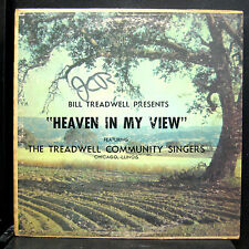 Bill Treadwell Singers - Heaven In My View LP VG Private CHICAGO IL Black Gospel