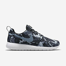 NIKE ROSHERUN PRINT Roshe Running Trainers Shoes Casual UK 7.5 (EU 42) Grey Camo