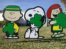 Peanuts outdoor christmas st. paddy's decorations