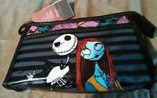 Nightmare Before Christmas Jack and Sally Makeup bag New with tags