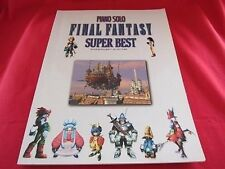 Final Fantasy (II,III,V,VI,VII,VIII,IX) 42 SUPER BEST Piano Sheet Music Book