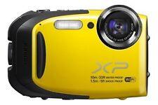 Fujifilm FinePix X Series XP70 16.4 MP Digital Camera - Yellow