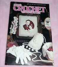 ANNIE'S CROCHET NEWSLETTER No.45 May June 1990 Bridal Accents // Baby 1st Year