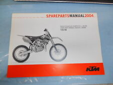 2004 KTM 105 SX Chassis & Engine Spare Parts Manuel 3208117