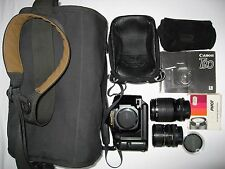Canon T90 35mm film SLR & 2 FD Lenses