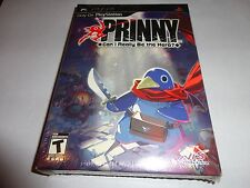 Prinny: Can I Really Be the Hero COLLECTORS EDITION (Sony PSP, 2009) NEW