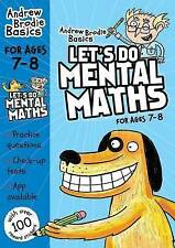 Brodie Andrew-Let`S Do Mental Maths For Ages 7-8  BOOK NEW