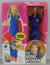 Six Million Dollar Man 1976 Kenner Bionic Woman with Purse MIB FACTORY SEALED