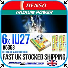 6 x DENSO IRIDIUM PLUGS *SALE* IU27 FOR SUZUKI,GSX600F T, V, W, X, Y, K1-K4 600
