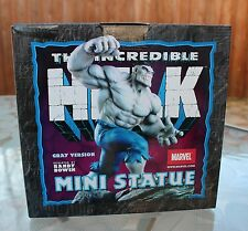 Marvel Incredible Hulk Mini Statue Randy Bowen Gray Version # 2897/4000 NIB