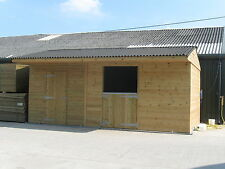 Stable block, mini L block, tack room, stables, shelters