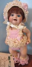 """BONNIE SUE"" DESIGNER GUILD Doll by PATRICIA LOVELESS W/CROCHET DRESS 6"""