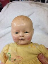Antique  (E.I.H. Co. Inc.) 1920's Composition Baby Doll Original Clothes