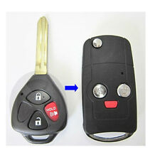 Flip Folding Remote Key REPL Shell Keyless Fob Case fit for 2010-2014 Scion