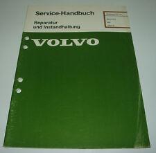 Werkstatthandbuch Volvo 340 Motor D16 / D16 ab 1984!