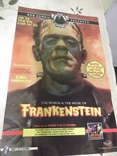 FRANKENSTEIN SOUNDTRACK CD  POSTER KARLOFF BASIL GOGOS ART Rob Zombie  11x17