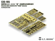 ET Model 1/35 #E35195 GAZ-233014 STS Tiger Interior Detail Up Set for Meng Model