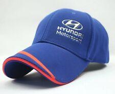 Hyundai Racing Cap car logo Moto GP motor racing F1 baseball Auto Sport hat