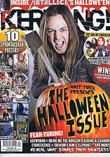MATT TUCK / MEMPHIS MAY FIRE / METALLICA Kerrang no. 1439 3 Nov 2012