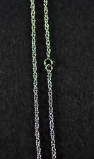 STERLING SILVER PRINCE OF WALES CHAIN 2.7 GRAM 20""