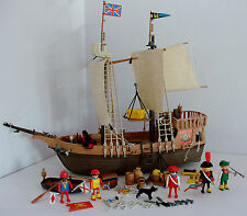 Playmobil Vintage Pirate Ship 3550 - Very Rare