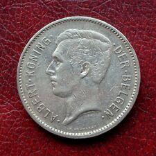 Belgium 1933 nickel 5 francs