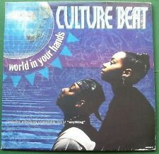 "Culture Beat World in Your Hands 33rpm 12"" Single"