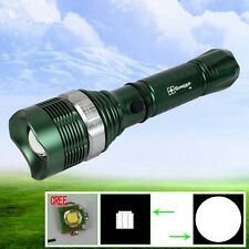 Best Zoomable and Rechargeable Long Distance Range Cree Led Flashlight Torch