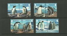 BRITISH ANTARCTIC TERRITORY 2013 PENGUINS 8V SET MNH