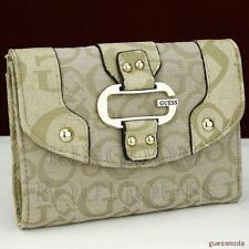 FREE Ship USA NWT Wallet GUESS DEVON NATURAL CQ New Ladies Lovely