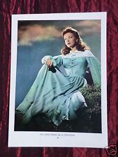 IDA LUPINO - FILM STAR - 1 PAGE PICTURE - CLIPPING / CUTTING